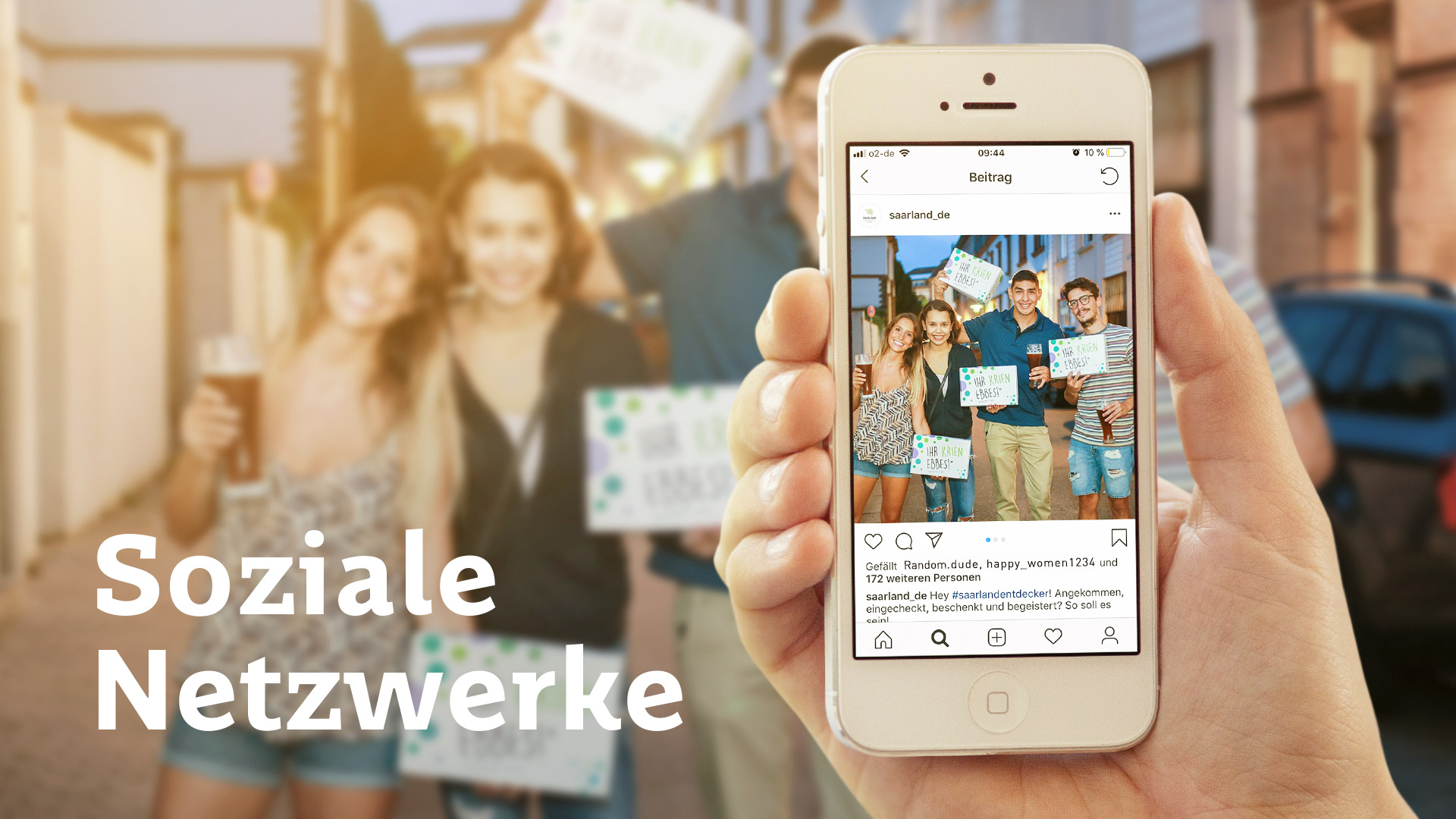 Saarland-Marketing Sommeraktion 2018 Projektbeispiel